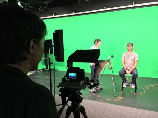 Behind the Scenes Green Screen